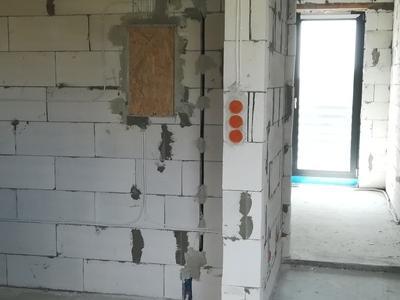 instalacja elektryczna doprowadzona do skrzynki