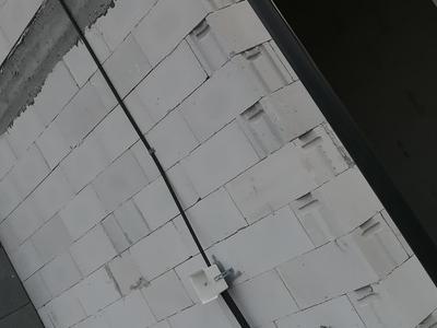 instalacja odgromowa na ścianie